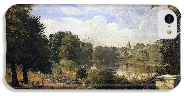 The Serpentine IPhone 5c Case by Jasper Francis Cropsey