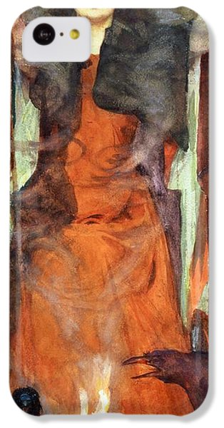 The Sorceress IPhone 5c Case by Henry Meynell Rheam
