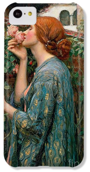 Valentines Day iPhone 5c Case - The Soul Of The Rose by John William Waterhouse