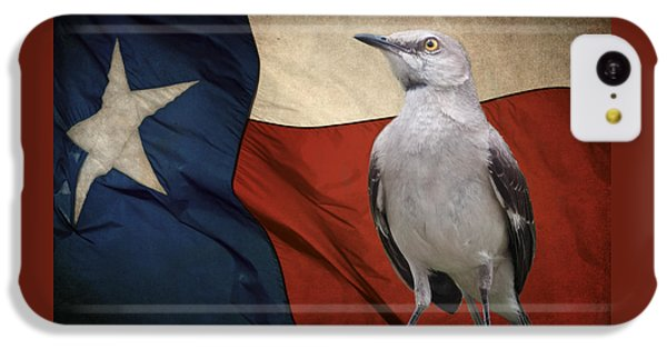 Mockingbird iPhone 5c Case - The State Bird Of Texas by David and Carol Kelly