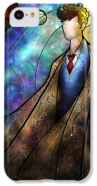 Doctor iPhone 5c Case - The Tenth by Mandie Manzano