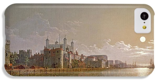 The Thames By Moonlight With Traitors' Gate And The Tower Of London IPhone 5c Case