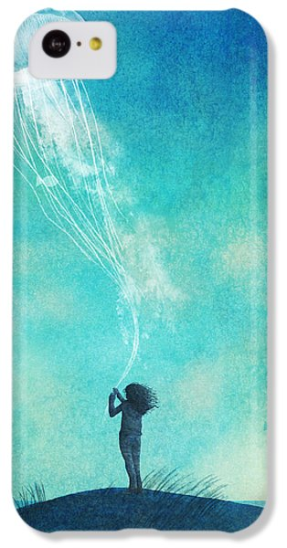 The Thing About Jellyfish IPhone 5c Case by Eric Fan