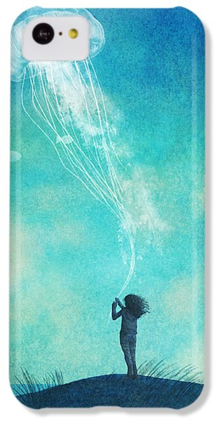 Animals iPhone 5c Case - The Thing About Jellyfish by Eric Fan