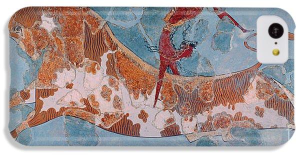 The Toreador Fresco, Knossos Palace, Crete IPhone 5c Case by Greek School