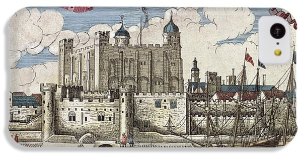 The Tower Of London Seen From The River Thames IPhone 5c Case