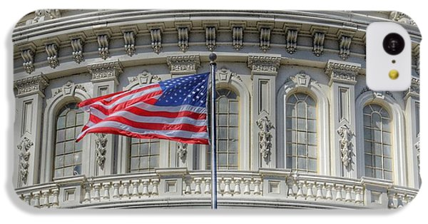 Capitol Building iPhone 5c Case - The Us Capitol Building - Washington D.c. by Marianna Mills