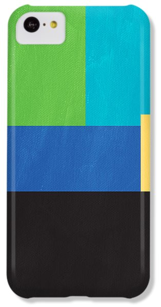 The View From Here- Modern Abstract IPhone 5c Case by Linda Woods