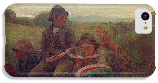 The Watermelon Boys IPhone 5c Case by Winslow Homer
