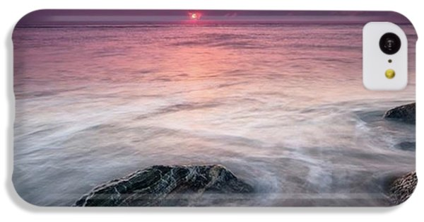 iPhone 5c Case - This Image Was Photographed Along The by Jon Glaser