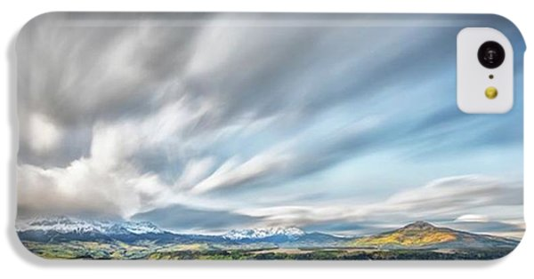 iPhone 5c Case - This Photograph Was Taken At A Meadow by Jon Glaser