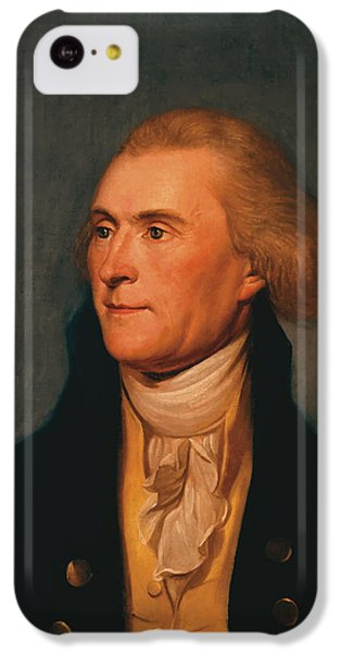 Thomas Jefferson iPhone 5c Case - Thomas Jefferson by War Is Hell Store