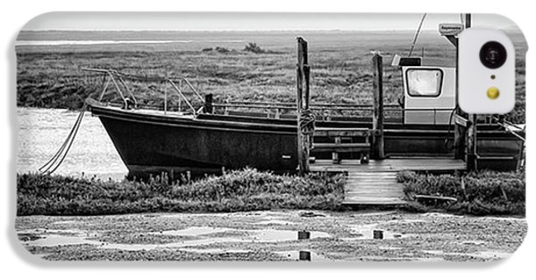 Thornham Harbour, North Norfolk IPhone 5c Case by John Edwards