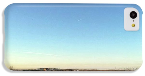 Thornham Marsh Lit By The Setting Sun IPhone 5c Case