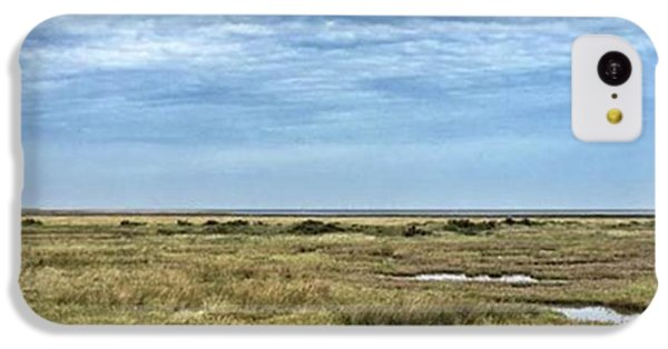 Thornham Marshes, Norfolk IPhone 5c Case by John Edwards