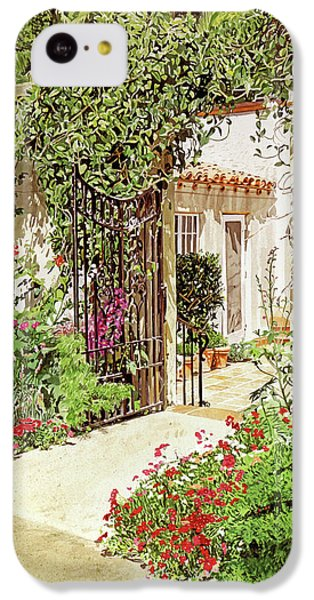 Through The Garden Gate IPhone 5c Case