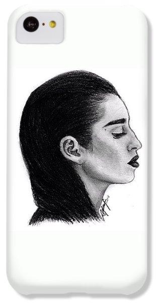 iPhone 5c Case - Lauren Jauregui Drawing By Sofia Furniel by Jul V