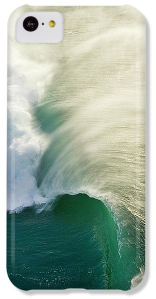 Helicopter iPhone 5c Case - Thunder Curl by Sean Davey