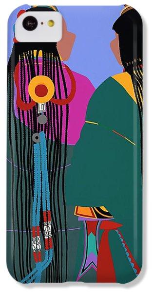 iPhone 5c Case - Tibetan Women by Synthia SAINT JAMES