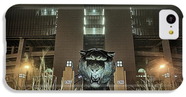 IPhone 5c Case featuring the photograph Tiger Stadium On Saturday Night by JC Findley