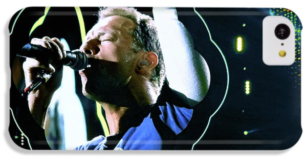 Coldplay iPhone 5c Case - Chris Martin - A Head Full Of Dreams Tour 2016  by Tanya Filichkin