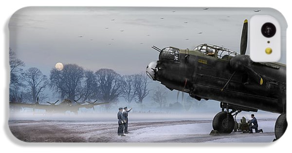 IPhone 5c Case featuring the photograph Time To Go - Lancasters On Dispersal by Gary Eason