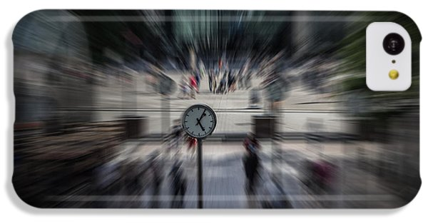 Time Traveller IPhone 5c Case by Martin Newman