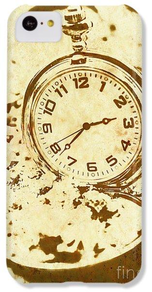 Time Worn Vintage Pocket Watch IPhone 5c Case