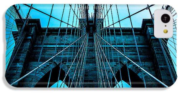 Brooklyn Bridge iPhone 5c Case - Timeless Arches by Az Jackson