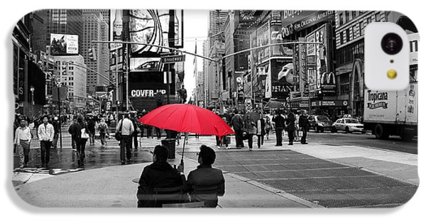 Times Square 5 IPhone 5c Case by Andrew Fare