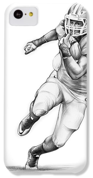Sports iPhone 5c Case - Todd Gurley by Greg Joens