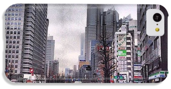 Tokyo Cloudy IPhone 5c Case by Moto Moto