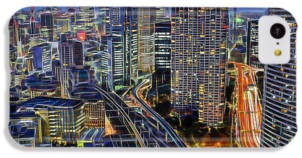 Tokyo Japan Skyline IPhone 5c Case