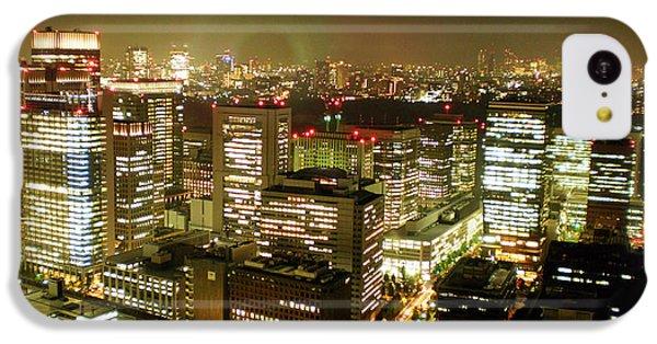 Tokyo Skyline IPhone 5c Case by Nancy Ingersoll