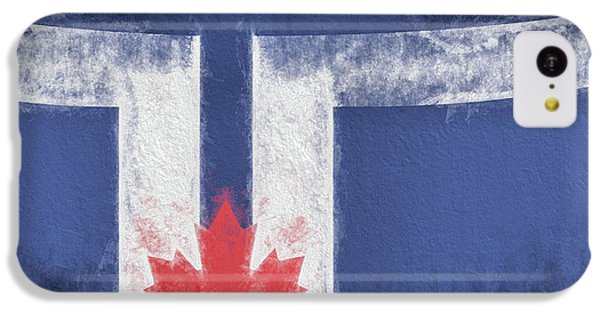 IPhone 5c Case featuring the digital art Toronto Canada City Flag by JC Findley