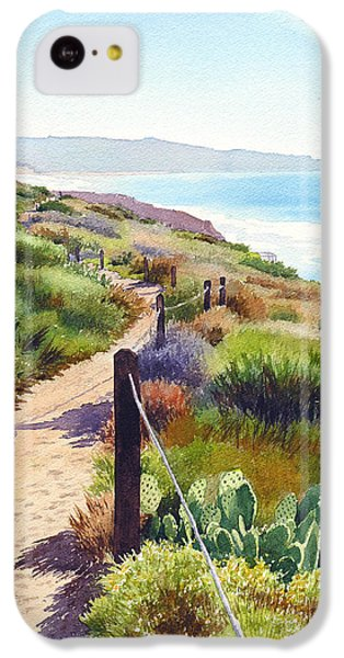 Planets iPhone 5c Case - Torrey Pines Guy Fleming Trail by Mary Helmreich