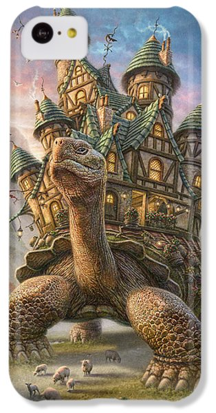 Landscapes iPhone 5c Case - Tortoise House by Phil Jaeger