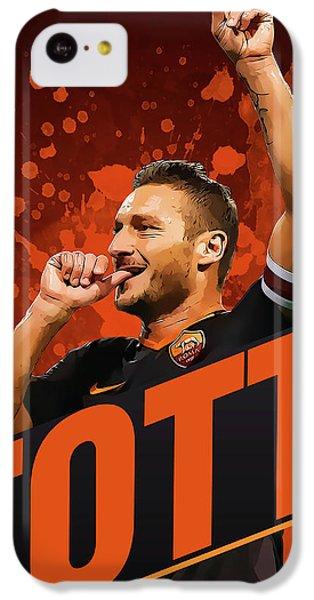 Totti IPhone 5c Case by Semih Yurdabak
