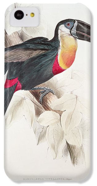 Toucan IPhone 5c Case by Edward Lear