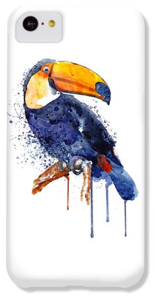 Toucan iPhone 5c Case - Toucan by Marian Voicu