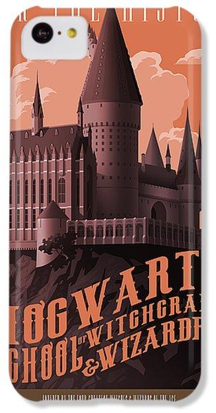 Wizard iPhone 5c Case - Tour Hogwarts Castle by Christopher Ables