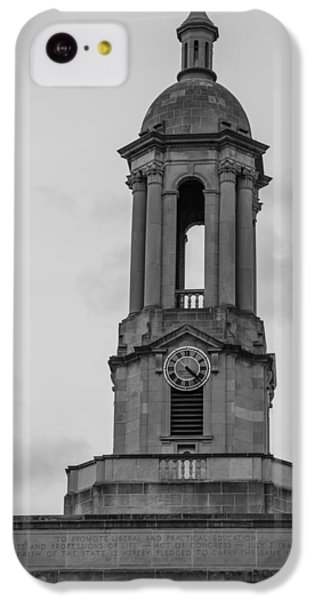 Tower At Old Main Penn State IPhone 5c Case by John McGraw