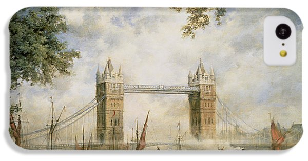Tower Bridge - From The Tower Of London IPhone 5c Case