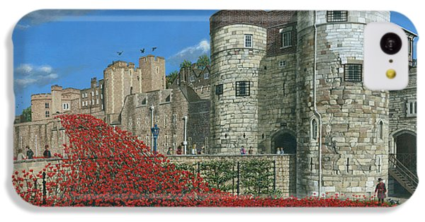 Tower Of London Poppies - Blood Swept Lands And Seas Of Red  IPhone 5c Case