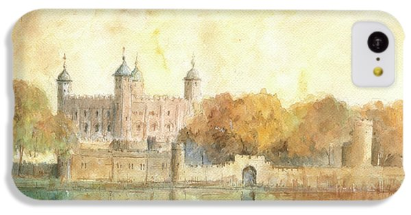 Tower Of London Watercolor IPhone 5c Case