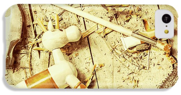Toy Making At Santas Workshop IPhone 5c Case by Jorgo Photography - Wall Art Gallery