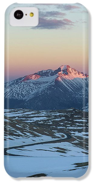 IPhone 5c Case featuring the photograph Trail Ridge Road Vertical by Aaron Spong