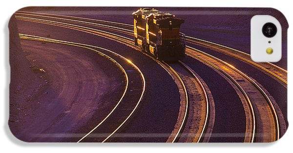 Train At Sunset IPhone 5c Case by Garry Gay