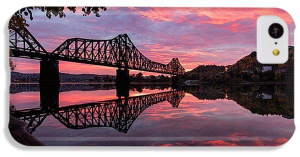 Train Bridge At Sunrise  IPhone 5c Case