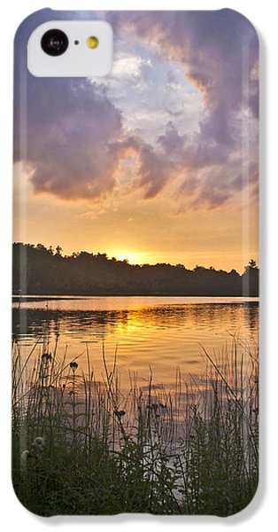 Tranquil Sunset On The Lake IPhone 5c Case by Gary Eason